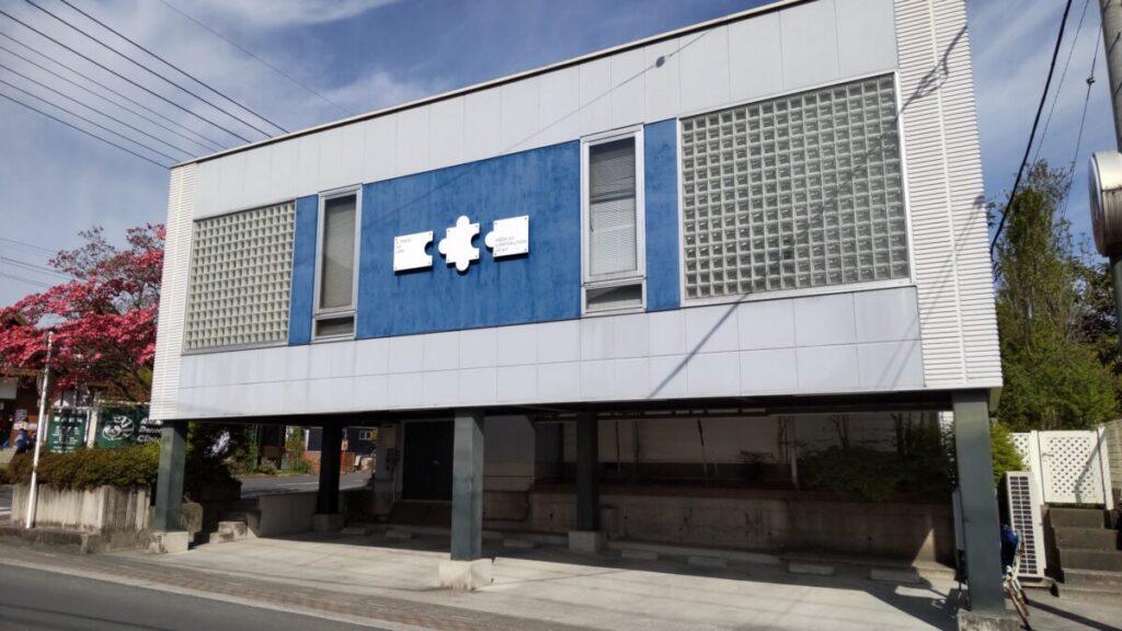 横瀬駅前の秩父ハイヤーの乗り場