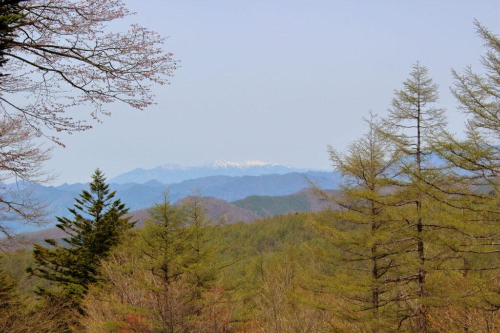 雪をかぶった八ヶ岳
