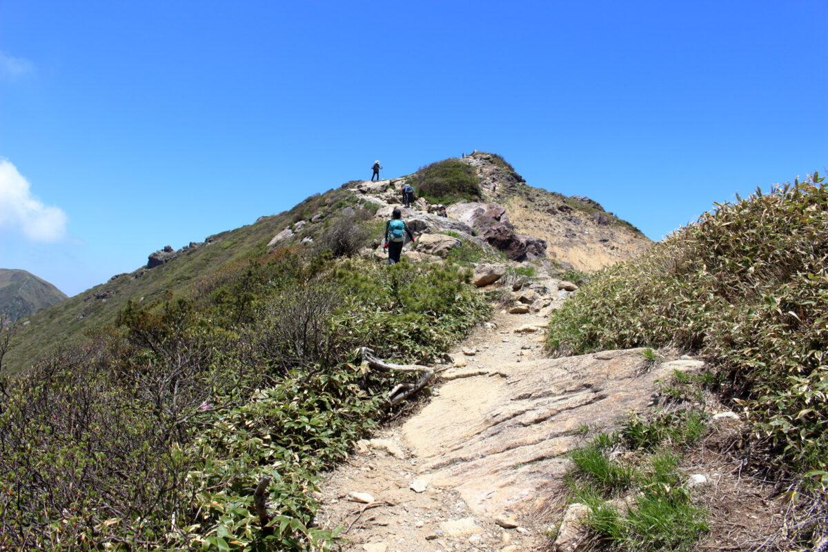 山頂まであと一息!