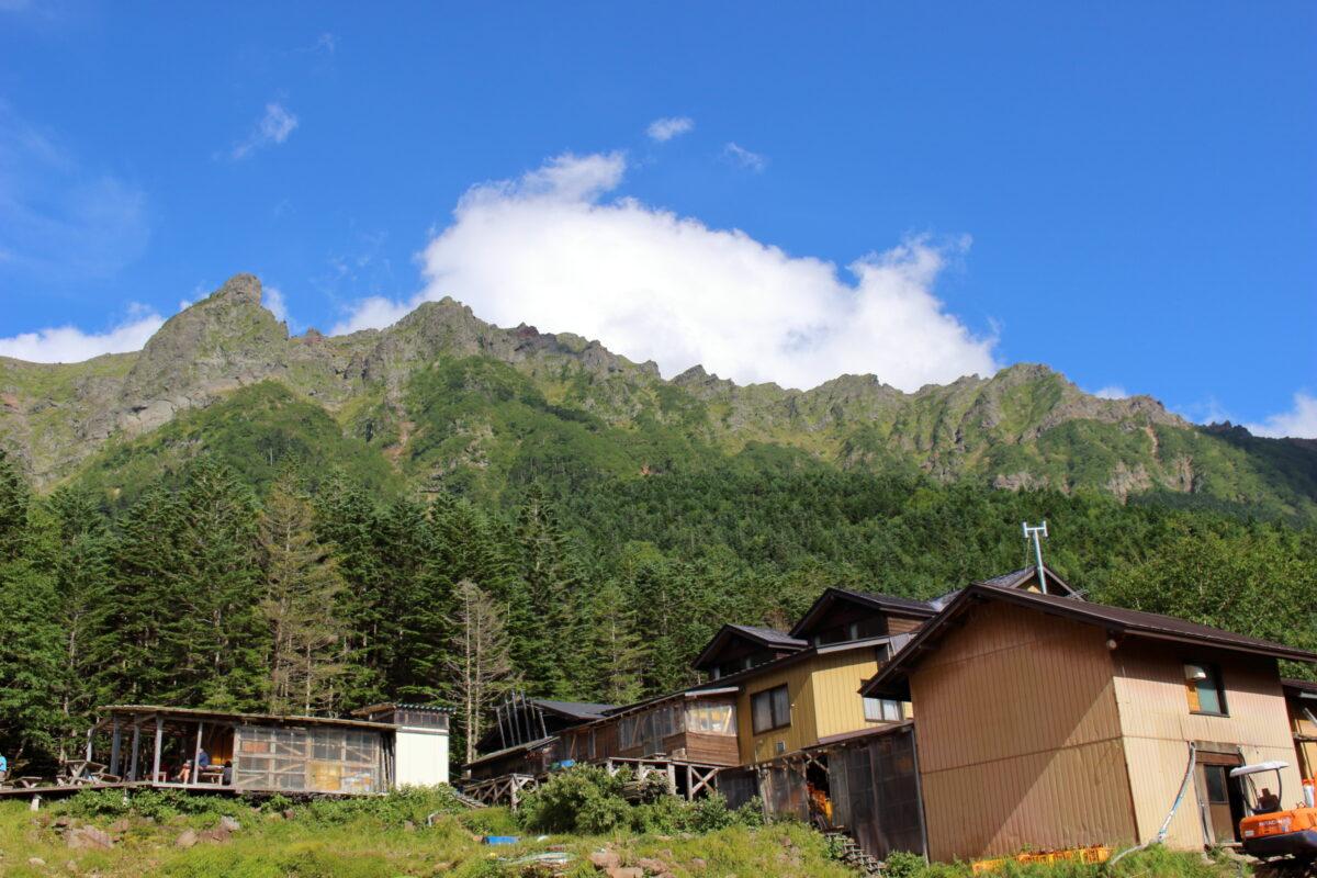 赤岳鉱泉と八ヶ岳