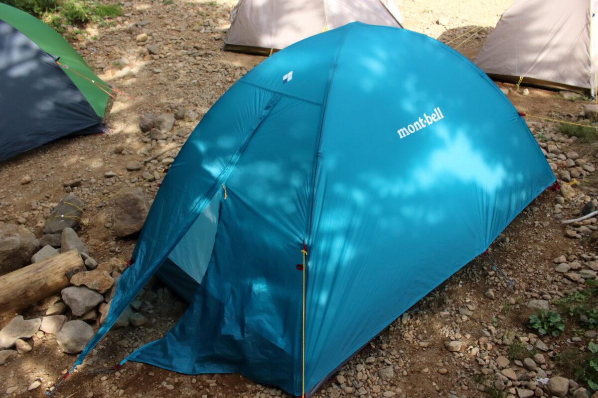 他のテントに囲まれていたマイテント