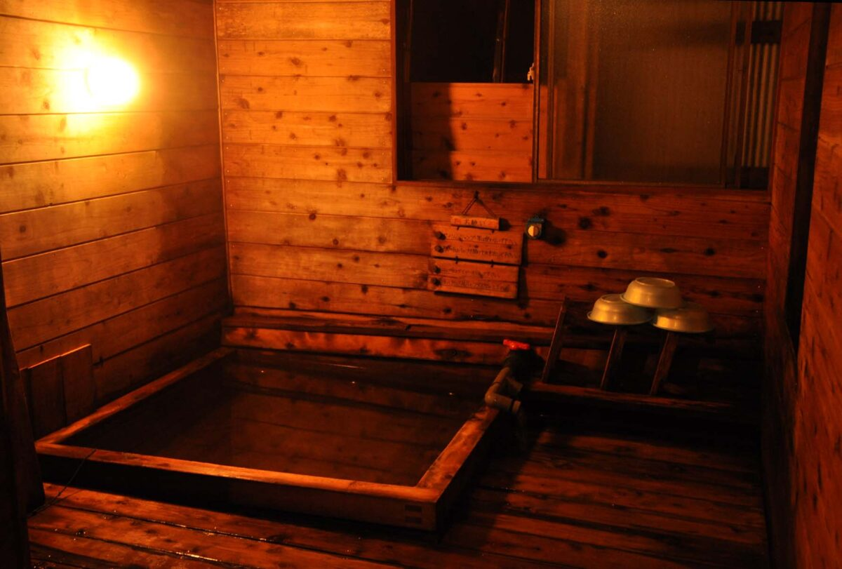赤岳鉱泉の温泉